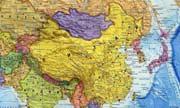 Фото. Карта Китая