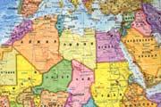Фото. Карта северной Африки
