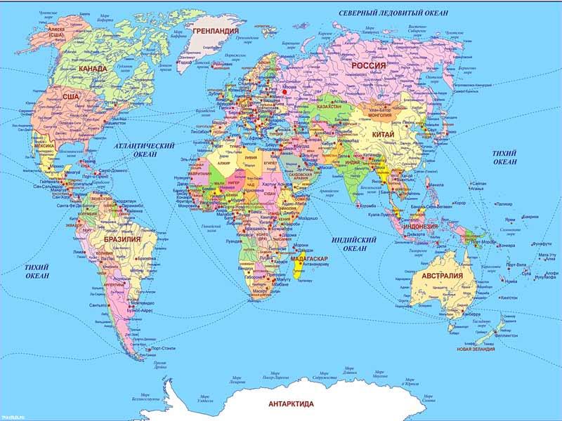 Карта россии карта европы страны