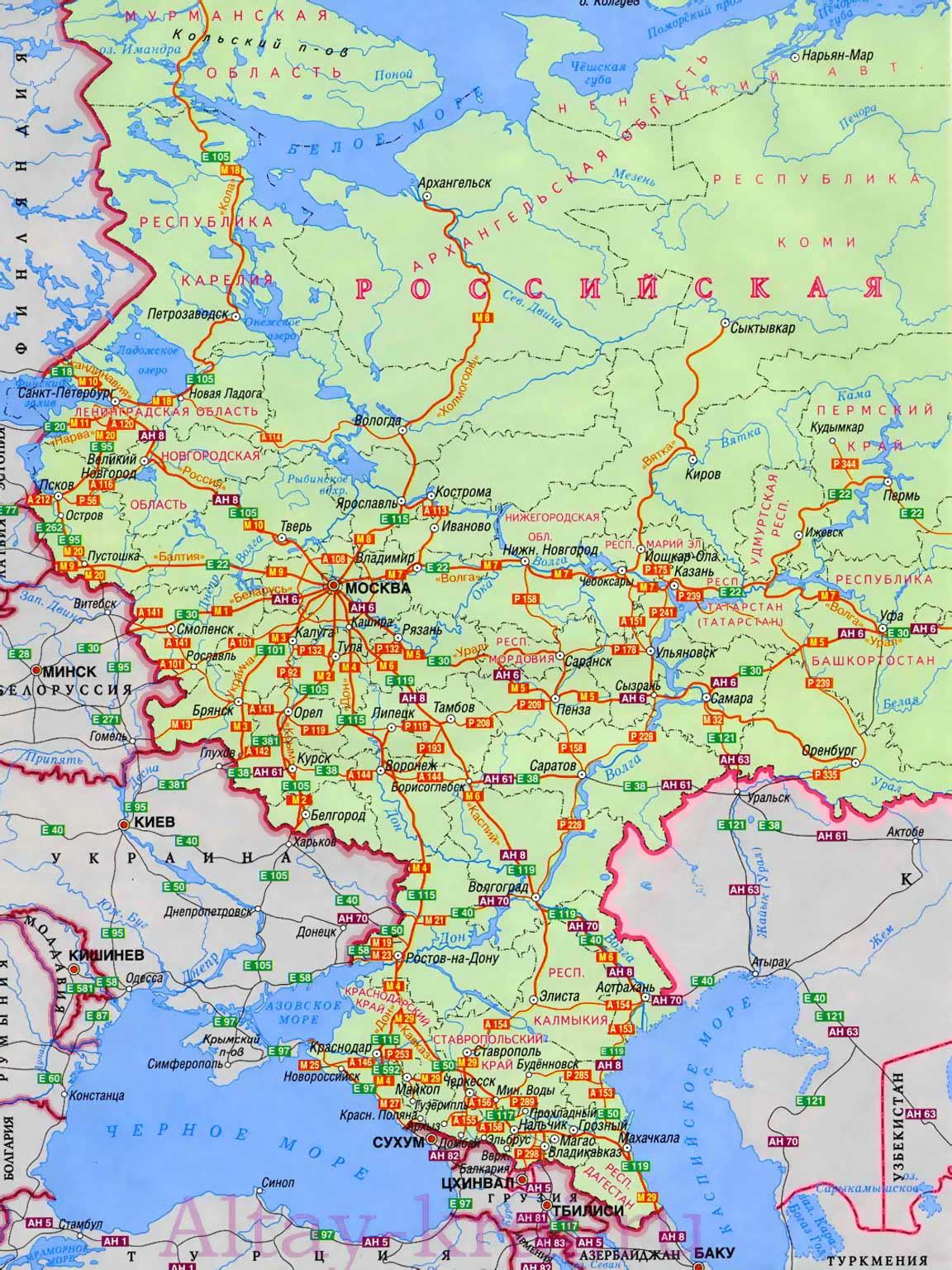 скачать карту москвы для работы в ней