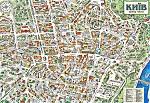 Карта центра Киева