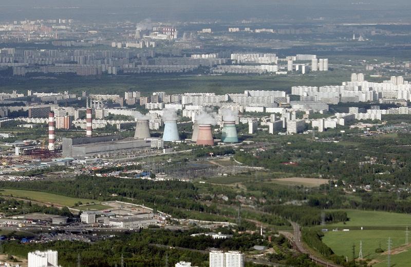 Панорама Бирюлево. Фото.