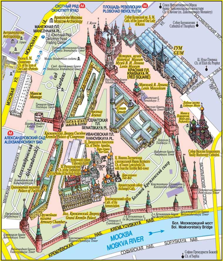 Карта-схема Московского