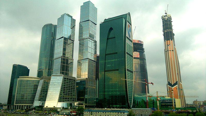 Москва столица России Краткая история Москвы Фото Как  Московский международный деловой центр Москва Сити фото
