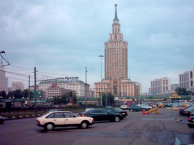 Карта Москвы. Ул.