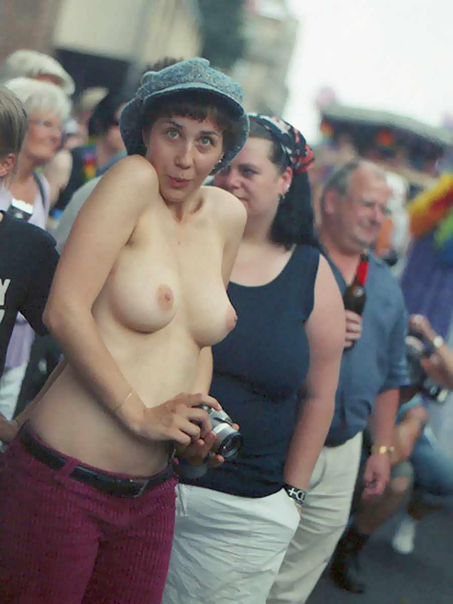 Формы женской груди. Гуляешь по городу - и на тебе - настоящая груша. Фото
