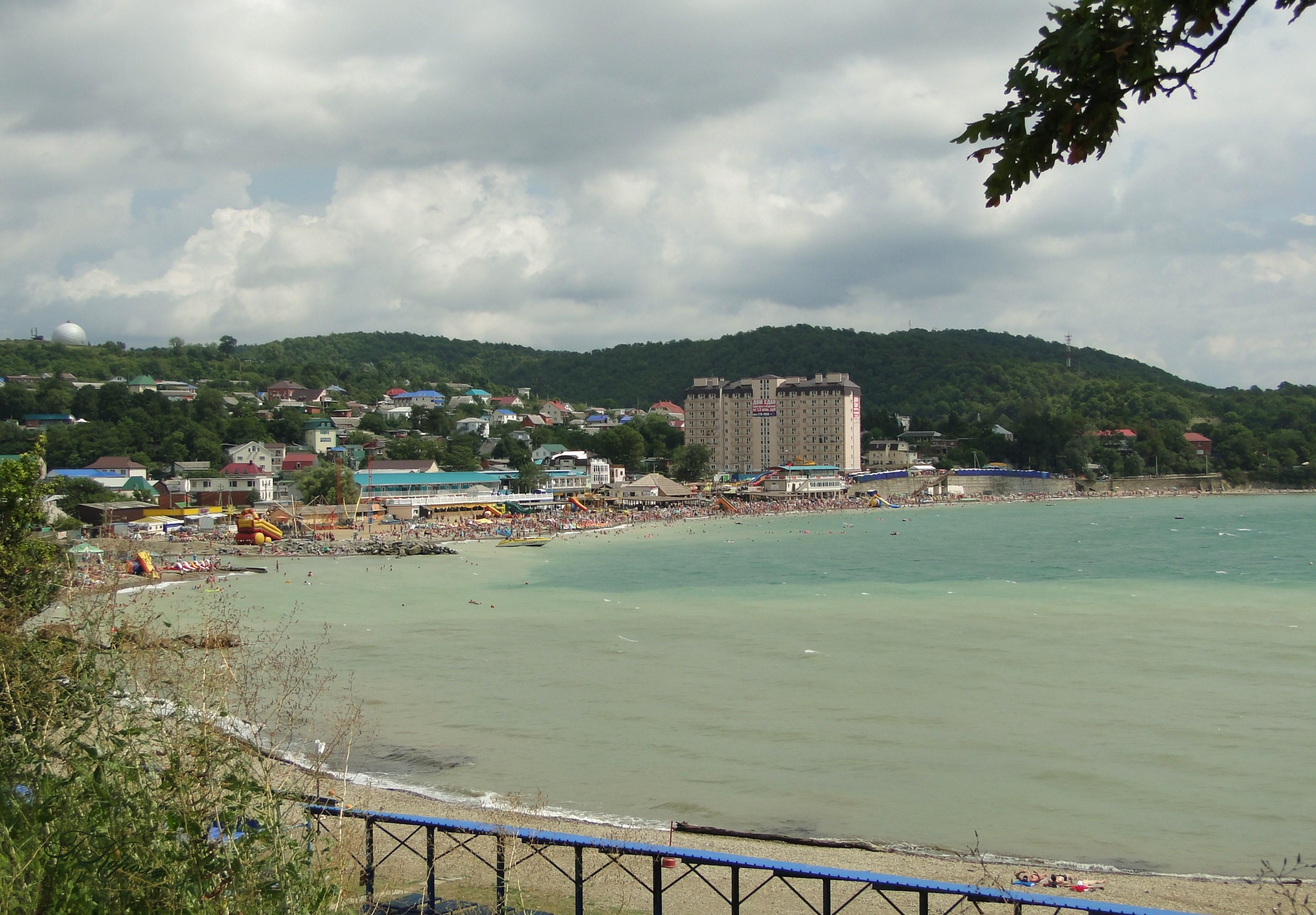 Все Пляжи курорта Джубга