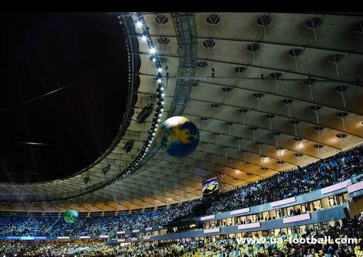 Открытие стадиона Олимпийский.